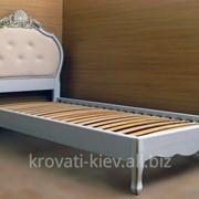 """Кровать """"Принцесса"""" для девочки из дерева фото"""