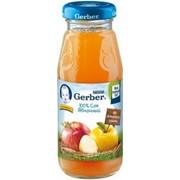 Гербер сок яблоко осв. (с 3 мес) 175мл фото