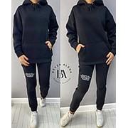 Теплый спортивный костюм BA/-036 - Черный фото