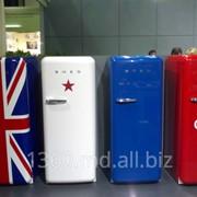 Холодильники отдельностоящие и встраиваемые Smeg фото