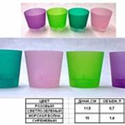 Горшок д/цветов с под. LE PARTERRE ORCHID 1,4л, d-15см (св.-зел) фото