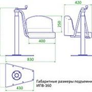 INVAPROM Подъемник для инвалидов стационарный ИПВ-160 арт. Ipr10720 фото