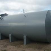 Резервуар горизонтальный цилиндрический фото