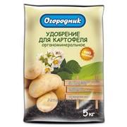 Удобрение органоминеральное в гранулах Огородник Картофель 5 кг фото