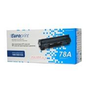 Картридж HP CE278A Black Print Cartridge for LaserJet 1566/1606/1536 EURO PRINT фото