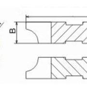 Фрезы для изготовления полуштапов D125- D280 фото