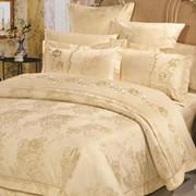 Комплект постельного белья ARYA Florenza вышивка жаккард евро 1000528 фото