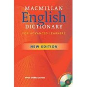 Macmillan Educ. Macmillan English Dictionary for Advanced Learners (New Edition) Paperback with CD-ROM фото