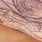 Подарочная упаковка бумага крафт Дерево фото