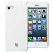 Чехлы Jisoncase wallet для iPhone 5/5s белый фото