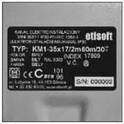 Маркировочные наклейки пассивного оборудования Etisoft, Этисовфт в Украине фото