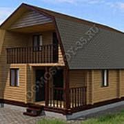 Дом из профилированного бруса 6 на 9 фото