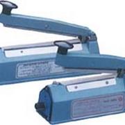 Запайщик пакетов настольный импульсный линейный FS-200C фото