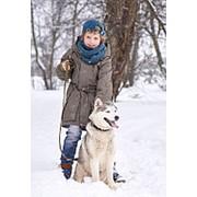 1A8JK24 Куртка для мальчика Гордон (Oldos) (Оливковый, 158) фото