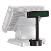 Дисплей покупателя Posiflex PD-2602B черный для Jiva/KS, RS232 (без подставки) фото