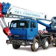 Услуги автокрана 32 тонны. фото