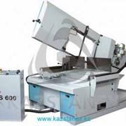Полуавтоматический ленточнопильный станок KS 600 фото