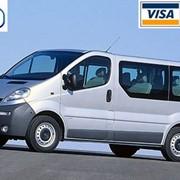 Аренда микроавтобуса Opel Vivaro Киев фото