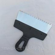 Шпатель зубчатый 200 мм 6*6;8*8 фото