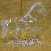 Сувенир Конь из стекла фото