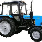 Трактор R36i HST со средним и задним ВОМ + отапливаемая кабина+культиватор фото