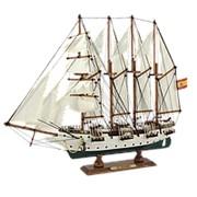 Модель парусника J.S.Elcano фото