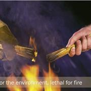 Огнебиозащита антипирен для камышевой кровли Magma Fire Stop фото