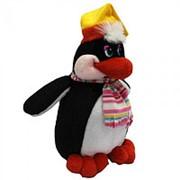 Пингвин в шапочке (С) /43 см/ фото
