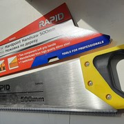 Ножовка по дереву, 500 мм, каленый зуб 3D, 7-8 TPI фото