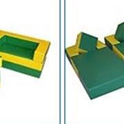Комплект мягкой игровой мебели фото