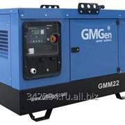 Дизельный генератор GMGen GMM22 в шумозащитном кожухе фото