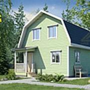 Проект дома 11-Б с мансардой фото