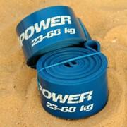 Резиновые петли Rubber4power синяя фото