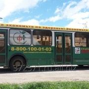 Оклейка автобусов фото