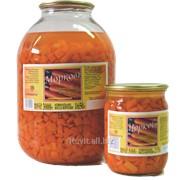 Морковь маринованная 3л фото