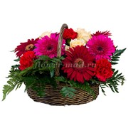 Цветочная корзина Регина фото