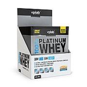 VPLab 100% Platinum Whey 10x30 г, саше. Ваниль. фото