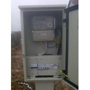 Подключение электроэнергии на строительной площадке фото