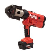 Пресс-инструмент от аккумулятора № RP 340-B + кейс + аккумулятор + зарядное устройство + пресс-клещи Ridgid TH 16 - 20 - 26 мм фото