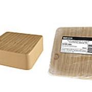 Коробка распаячная КР 75х75х28 ОП сосна IP40, инд. штрихкод TDM фото