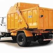 Автомобили коммунальные мусоровозы КО-440-1 фото