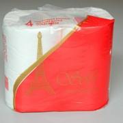 """Туалетная бумага """"SOFI"""" (4 рулона в упаковке) фото"""