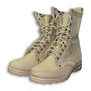 Ботинки с высоким берцем ВКБО ткань Кордура цвет бежевый фото