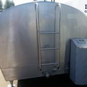 Танк охладитель молока Б/У ALFA LAVAL 10000 закрытого типа объемом 10000 литров фото