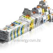 Клеммные блоки с винтовыми клеммами ABB фото
