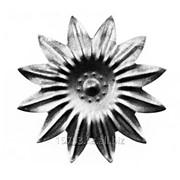 Изделие из металла цветок HY-174 d 135, артикул 13956 фото
