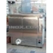 Холодильный стол 2-х дверный 1400*600*850 фото