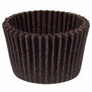 Пергаментные капсулы круглые. Цвет: коричневый, d35х20, 2000 шт. фото