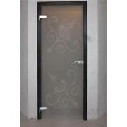 Дверь стеклянная для сауны фото