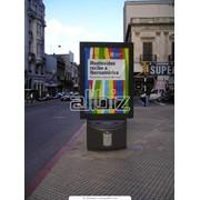 Размещение рекламы на ситилайтах фото